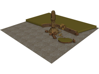 Star Wars Arena 3D Model