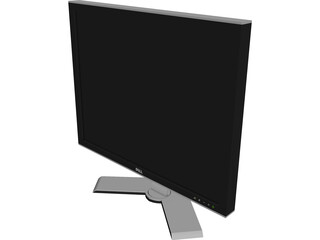 Monitor Dell 3D Model 3D Preview
