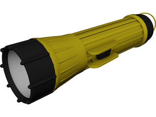 Flashlight 3D Model
