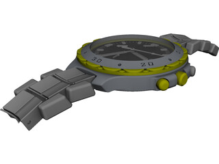 Citizen Watch 3D Model