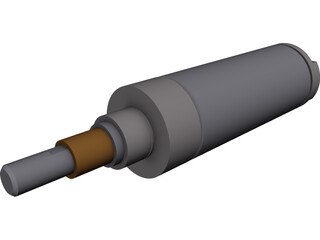 Air Cylinder 3D Model 3D Preview