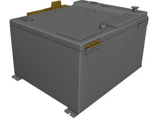 Fanuc Robotics RJ3 Op Box 3D Model