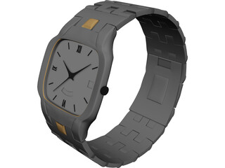 Watch 3D Model 3D Preview
