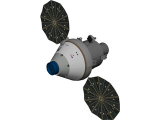 Orion Spacecraft 3D Model