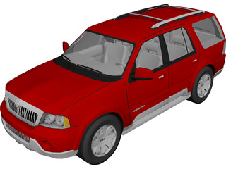 Lincoln Navigator (2004) 3D Model