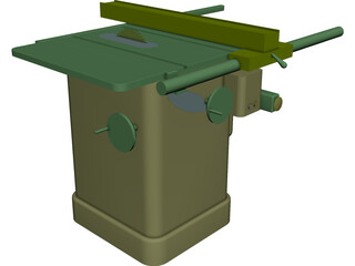 Delta Unisaw Table Saw 3D Model