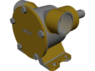 Self Primed Pump 3D Model