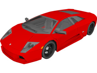Lamborghini LP640 3D Model