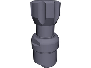 Pressure-Reducing Regulator 3D Model