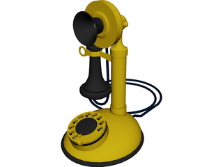 Telephone Old 3D Model