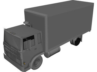 Moving Van 3D Model