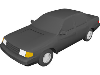 Ford Tempo (1988) 3D Model