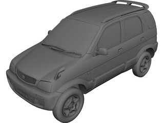 Toyota Cami (1999) 3D Model