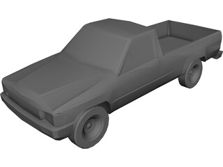 Toyota Pickup (1985) 3D Model
