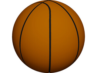 Basketball 3D Model 3D Preview