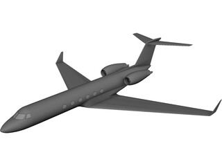Gulfstream 3D Model 3D Preview