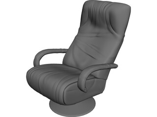 Business Chair 3D Model
