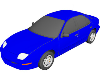 Pontiac Sunfire (1997) 3D Model