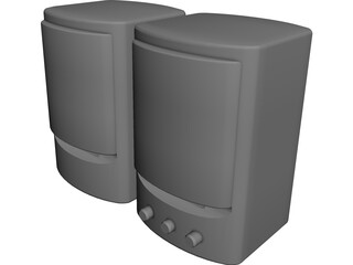 Speakers 3D Model 3D Preview