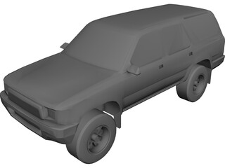 Toyota 4Runner (1991) 3D Model