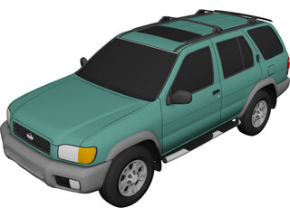 Nissan Pathfinder (1999) 3D Model