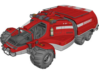 Space Buggy 3D Model