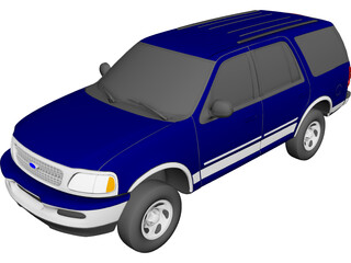Ford Expedition XLT (1997) 3D Model