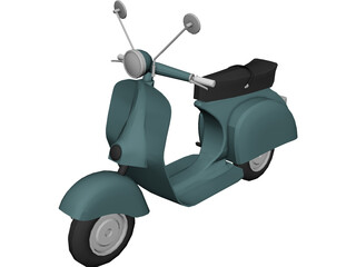Scooter Vespa 3D Model