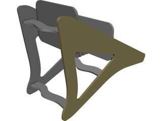 Kids Chair 3D Model