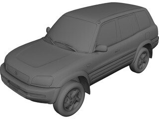 Toyota RAV4 (1997) 3D Model