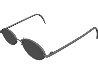 Glasses 3D Model 3D Preview