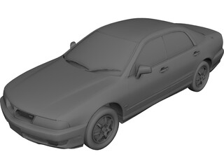 Mitsubishi Diamante (1998) 3D Model