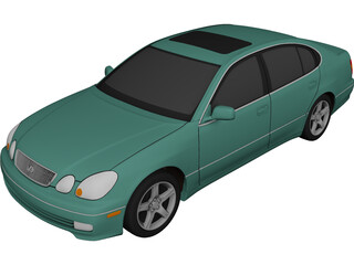 Lexus GS400 (1998) 3D Model