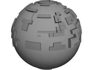 Borg Sphere 3D Model