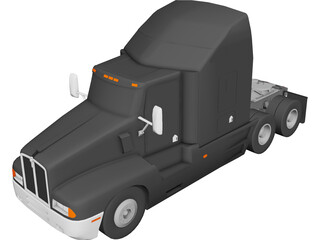 Kenworth T600A 3D Model 3D Preview