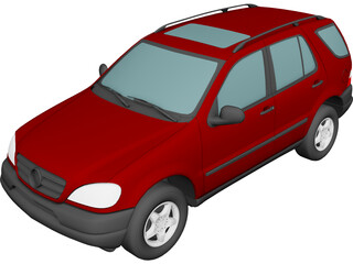 Mercedes-Benz ML 320 (1998) 3D Model