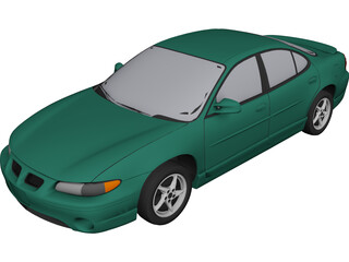 Pontiac Grand Prix GT (2000) 3D Model
