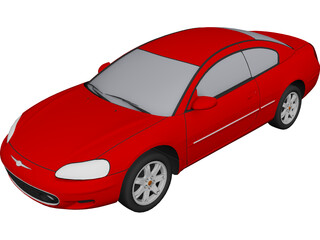 Chrysler Sebring Coupe (2001) 3D Model
