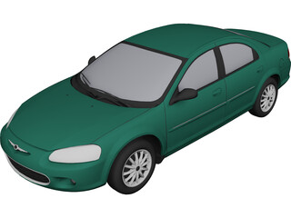 Chrysler Sebring Sedan (2001) 3D Model