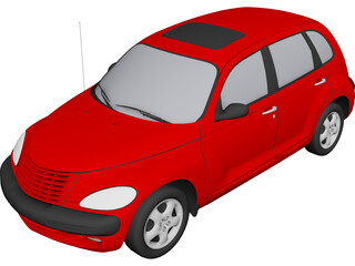 Chrysler PT Cruiser (2001) 3D Model