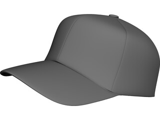 Baseball Cap 3D Model 3D Preview