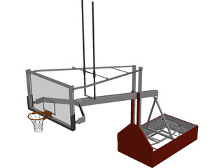 Basket Model ACB 3D Model