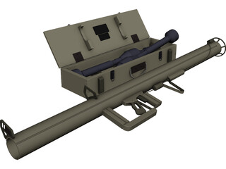 Bazooka German 3D Model