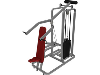 Incline Press 3D Model
