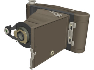 Photo Camera Kodak 3D Model