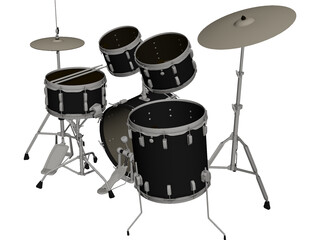 Ludwig Drum 3D Model 3D Preview