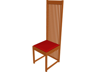 Chair Side 3D Model