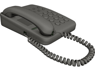 Spanish Telephone 3D Model