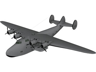 Boeing 314 Clipper 3D Model
