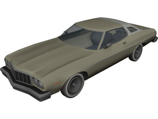 Ford Turino 3D Model